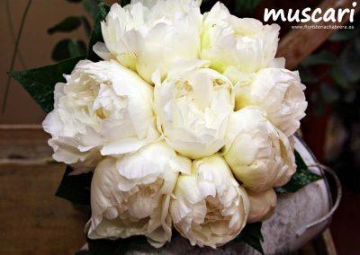 Bouquet de peonías