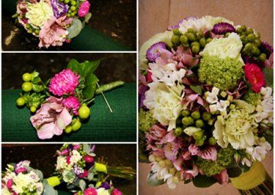 Bouquet silvestre de novia