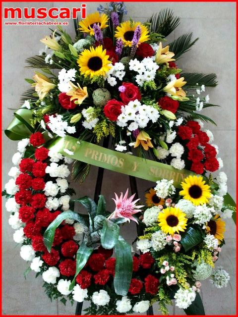 Corona funeraria diseño