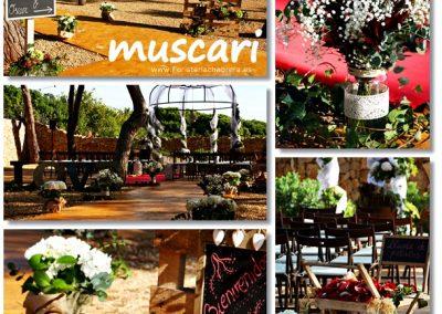 Decoración de boda civil en jardines Mas del Frares Benicàssim