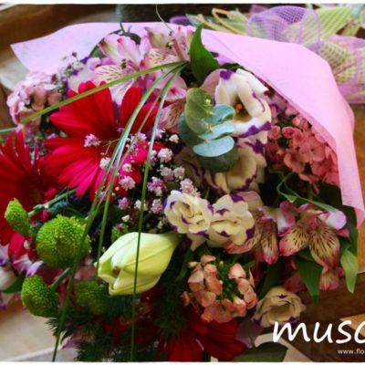 Ramo de flor variada silvestre
