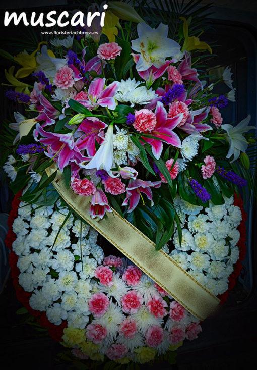Corona funeraria Sentimiento